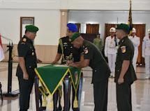 Pangdam XIII/Merdeka Pimpin Sertijab Kajasdam dan Tradisi Korps Perwira