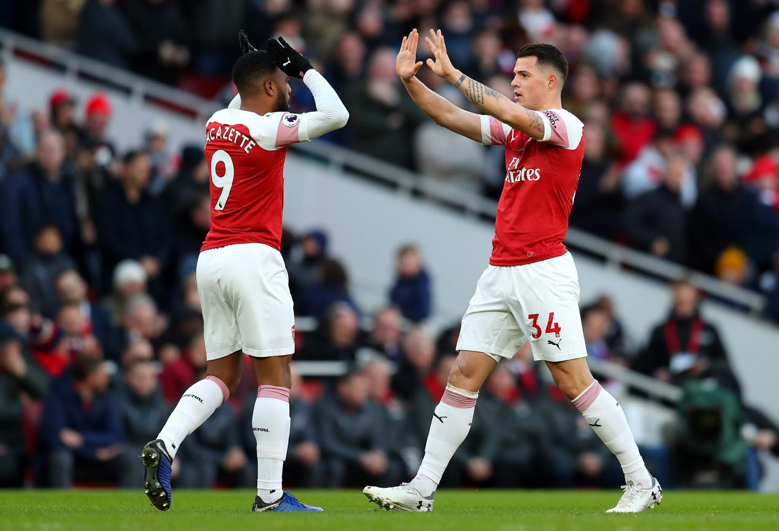 Highlight Arsenal 2-0 Manchester United, 10 Maret 2019