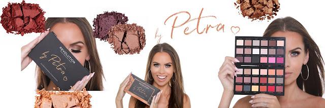 Makeup Revolution by Petra paletka očních stínů