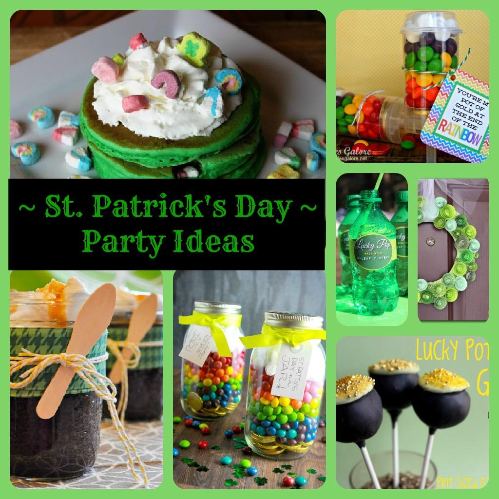 The Mandatory Mooch: St. Patrick's Day Party Ideas
