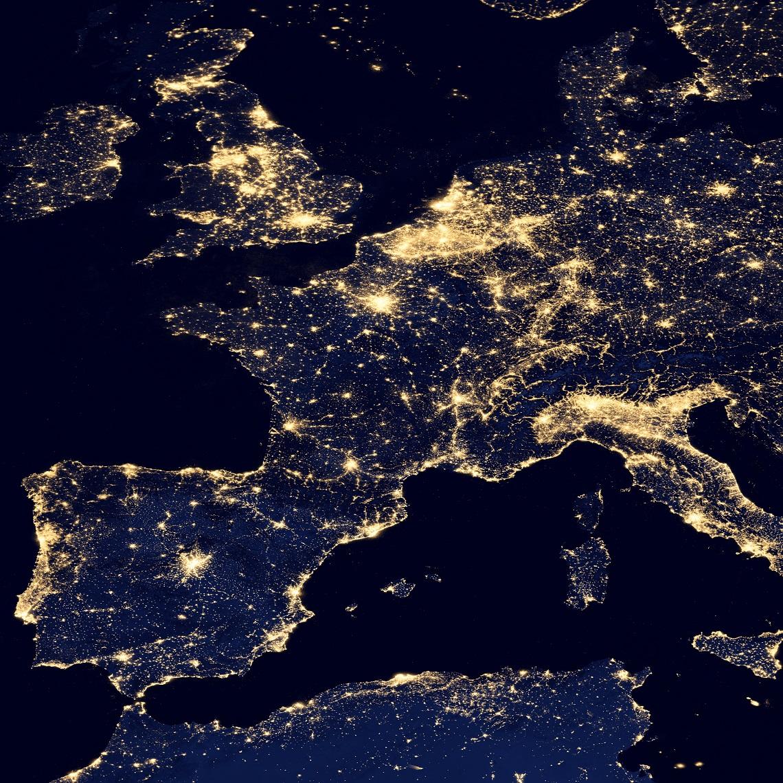 Carte Du Monde Lumineuse.Cartographie Numerique Les Cartes D Emission Ou De