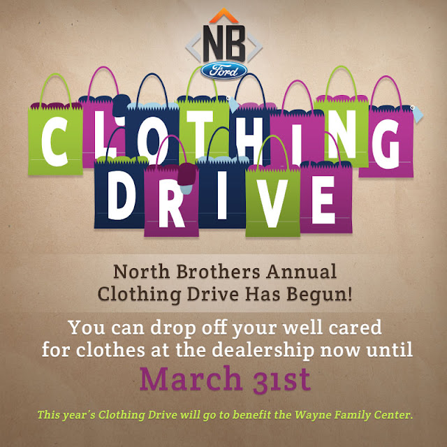Keep the Community Warm During the North Brothers' Annual Clothing Drive