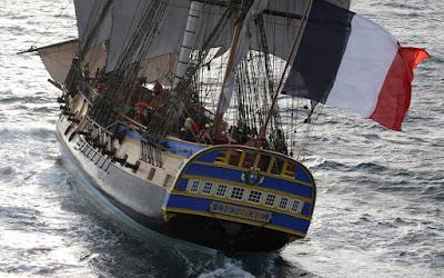 Cap sur la Méditerranée pour le grand voyage 2018 de L'Hermione