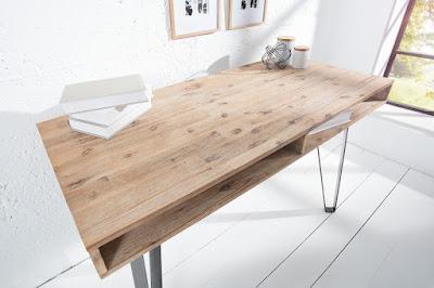 dizajnový nábytok Reaction, nábytok z kovu a dreva, nábytok z kovu a masívu
