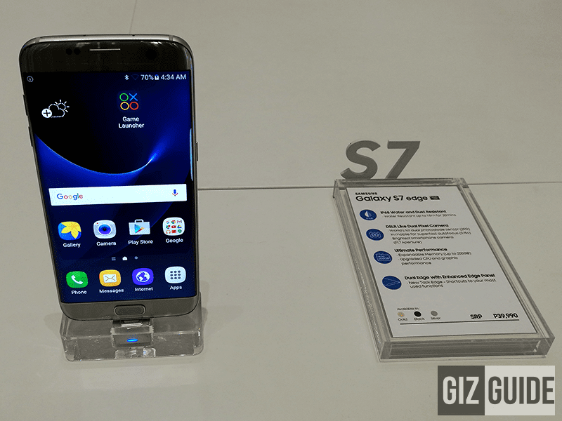 Samsung Galaxy S7 Edge silver edition
