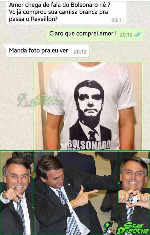 MUITO FÃ DO BOLSONARO