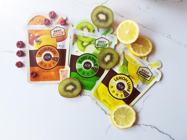 Mediheal Ade mask sheet pumpkin, kiwi-apple, lemon-lime