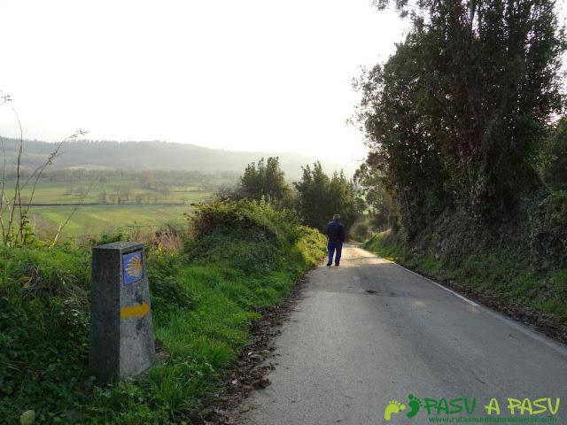 Camino de Santiago en Figares, Sariego