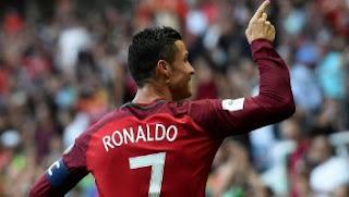 Video Cuplikan Gol Portugal vs Faroe Islands 5 : 1