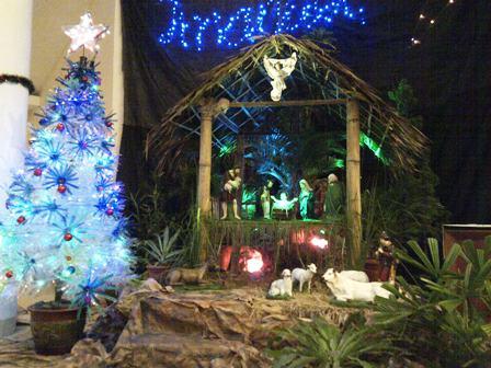 paling inspiratif dekorasi palungan natal sederhana