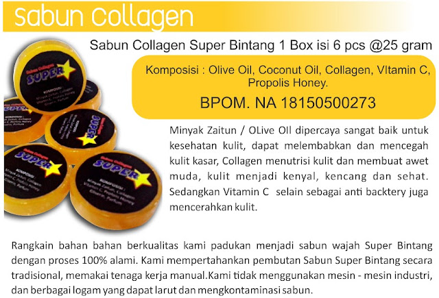 sabun collagen super bintang