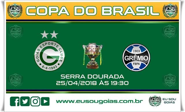Ingressos à venda para Goiás x Grêmio