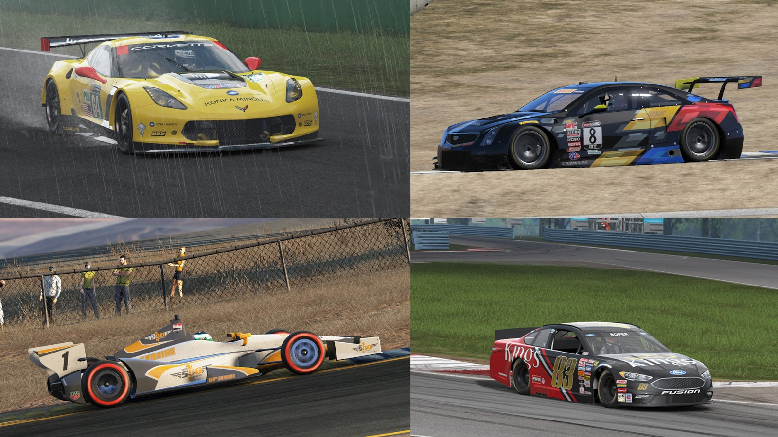 the united states of project cars