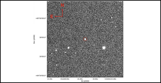 Finding chart including KPS-1 host star as obtained with the MTM-500 telescope in V band. Credit: Kourovka Planet Search project