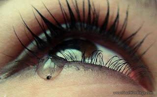 Crying Brown Eyes
