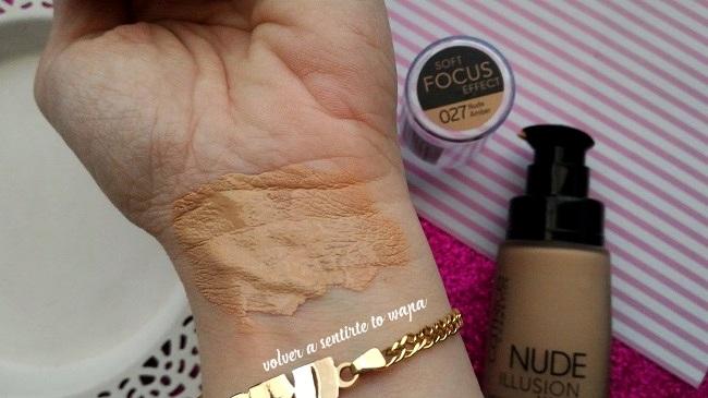 Base de Maquillaje Nude Illusion de Catrice - 027 Nude Amber