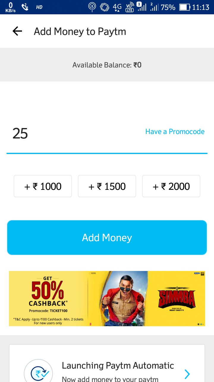 refer and earn paytm cash by predcred app