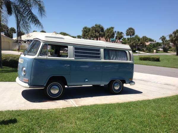 1969 Volkswagen Early Bay Camper | vw bus wagon
