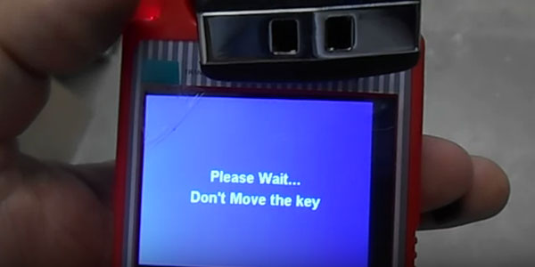 Don't move the key away