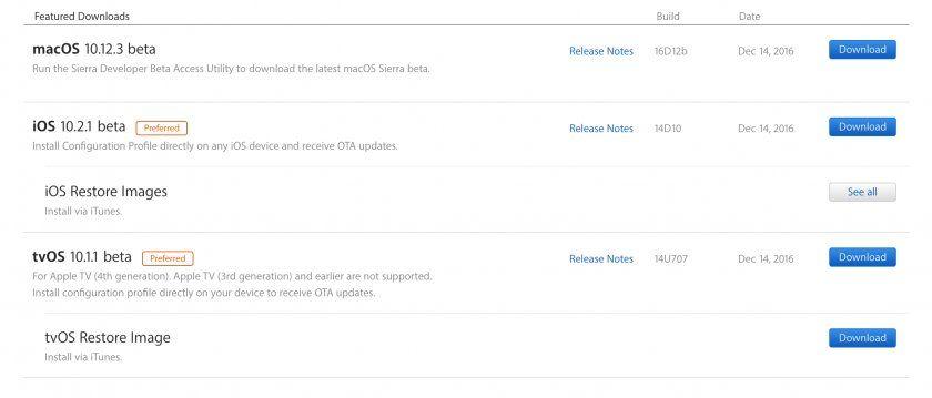 أبل،iOS 10.2.1