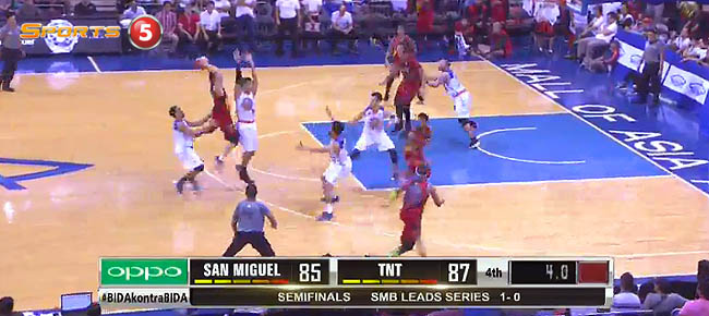 TNT def. San Miguel, 87-85 (REPLAY VIDEO) Semis Game 2 / February 10