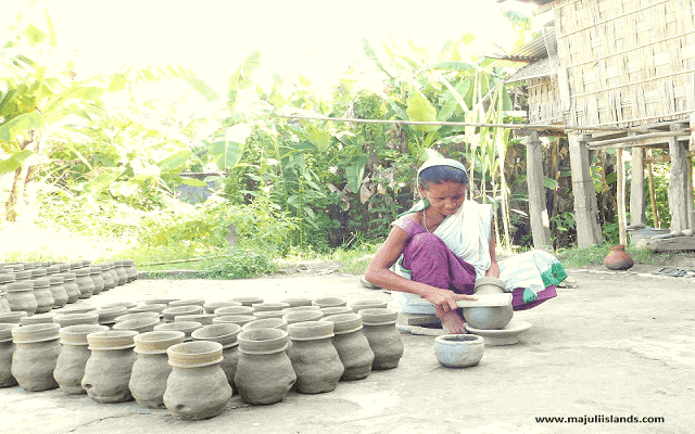 Village Pottery Industry, The Rich Heritage Of Majuli Island