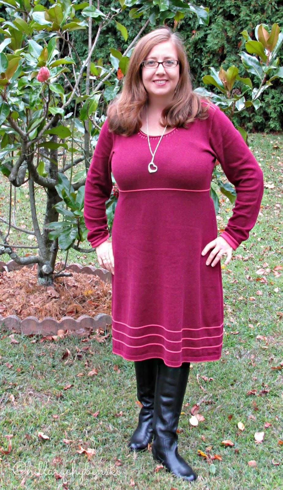 Merlot Knit Dress From Aventura Clothing