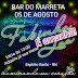 Grande Seresta Dançante neste Sábado, 05 de Agosto no Bar do Marreta em Espírito Santo-RN