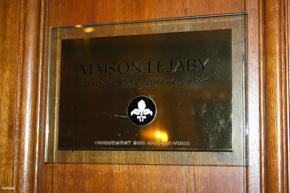 La Maison Lejaby : Son salon privé de la rue Royale (Paris)