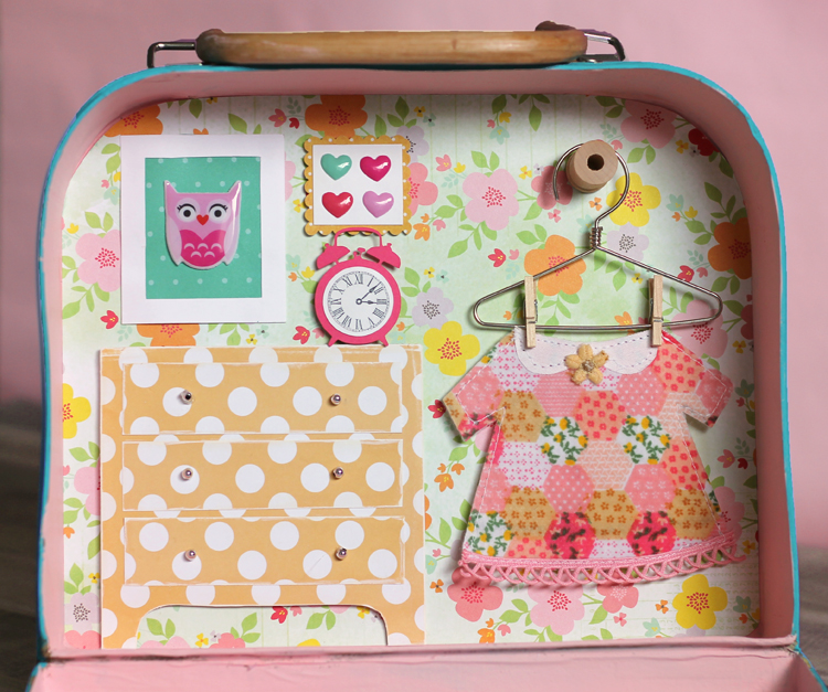 dollhouse in a suitcase