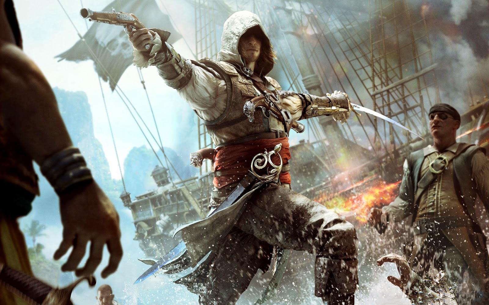 Assassin S Creed Iv Black Flag Makes Its Way To Playstation 4