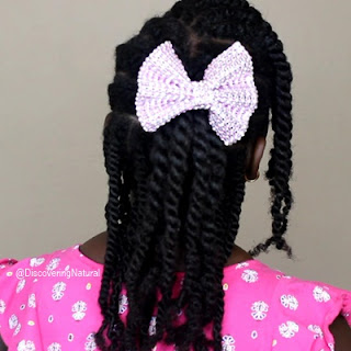 Kids Hairstyles for Natural Hair