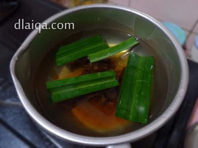 masak air gula merah