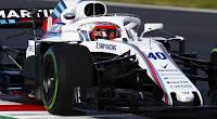 Robert Kubica nowoczesny bolid F1 Williams 2018