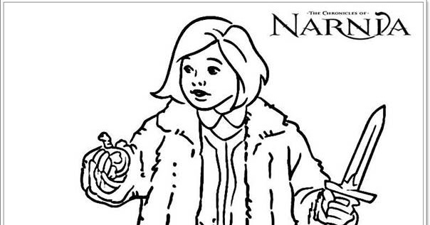 Lucy Chronicles Of Narnia Colouring Pages | Realistic Coloring Pages