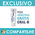 Amostras Grátis - Creme Dental Oral-B 3D White Perfection
