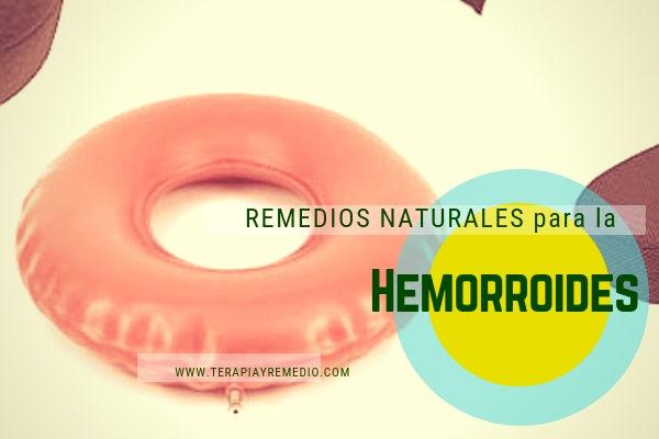 Remedios naturales para el tratamientos de hemorroides