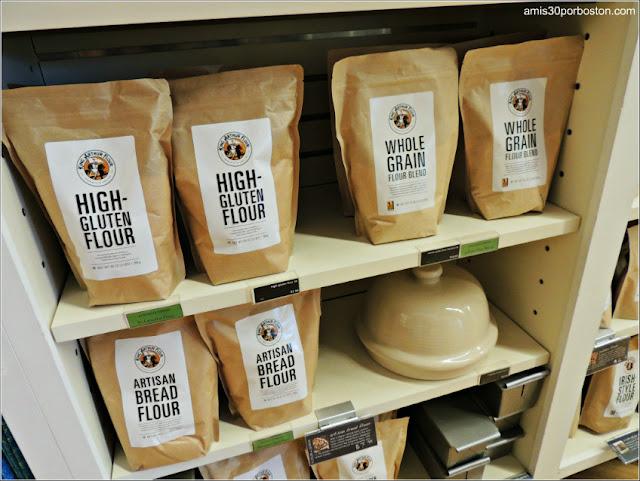 Harinas en la Tienda Insignia King Arthur Flour, Vermont