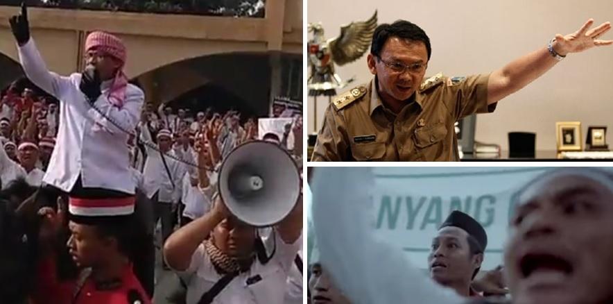 """Ahok Fitnah Umat Islam sebagai Perusuh """"Ganyang China"""", Aa"""