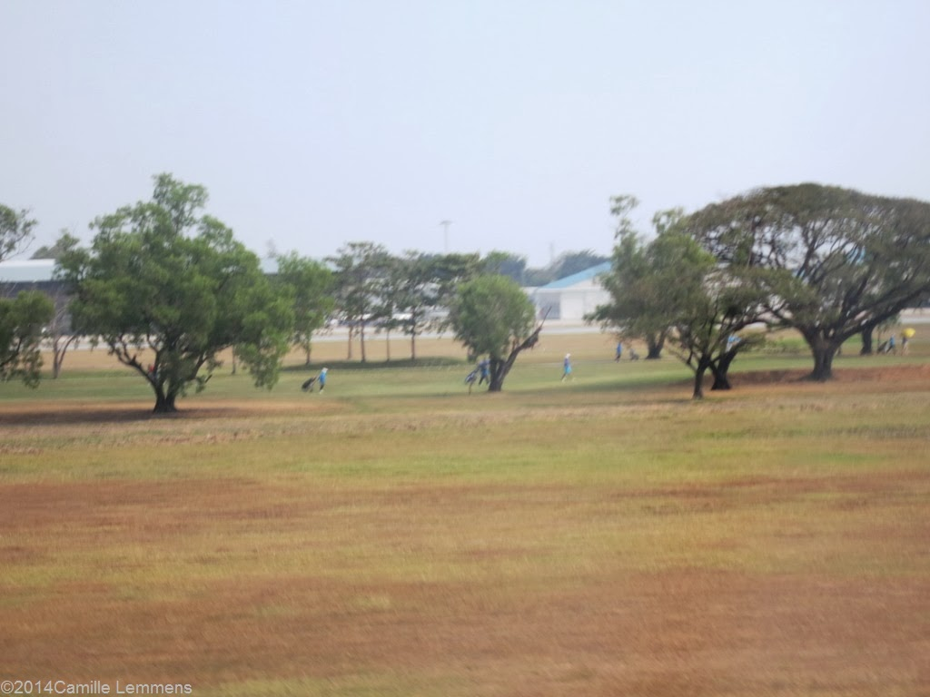 Bangkok, Don Muang airport, golf court