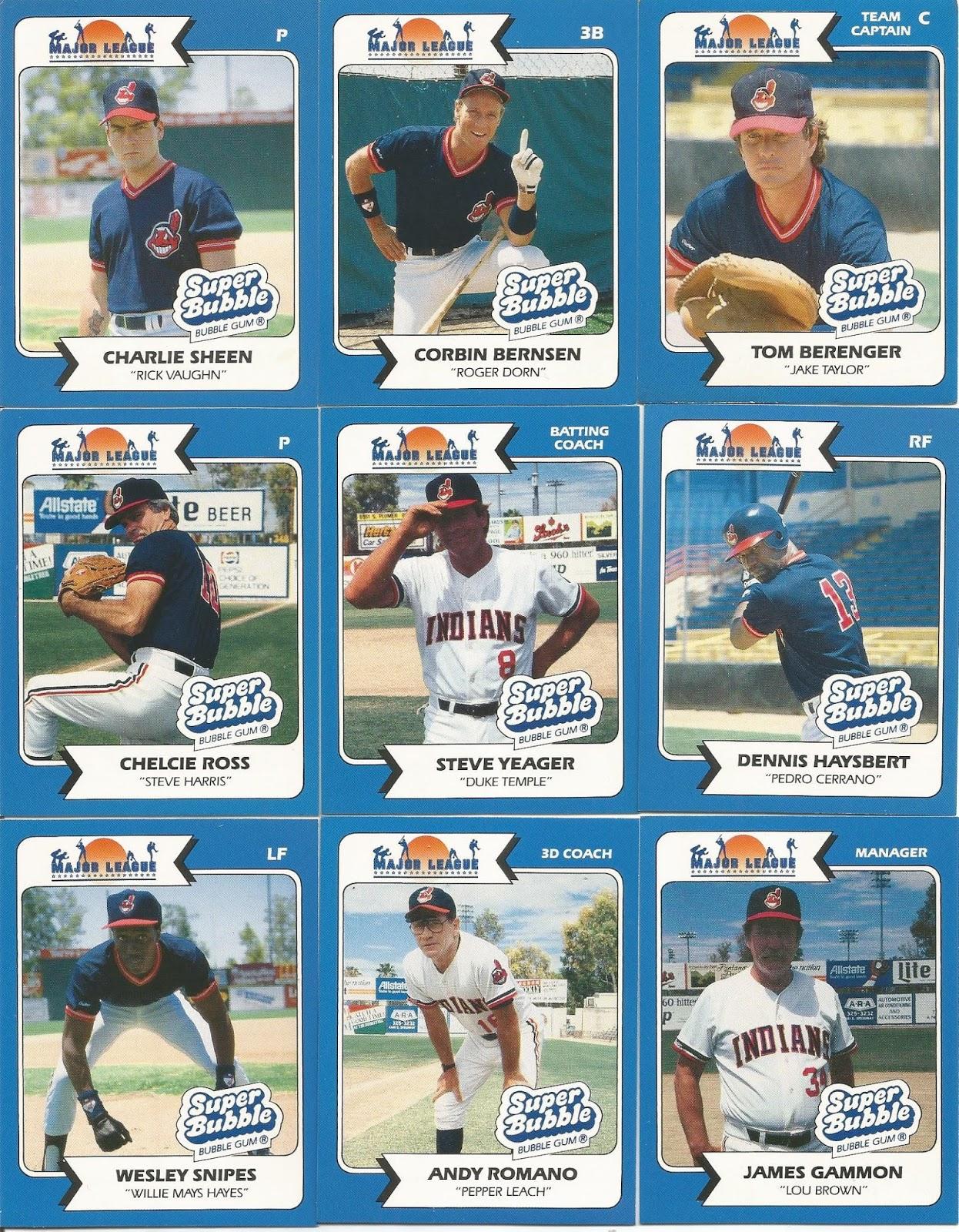 Indians Baseball Cards July 2017