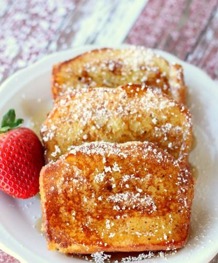 POUND CAKE FRENCH TOAST