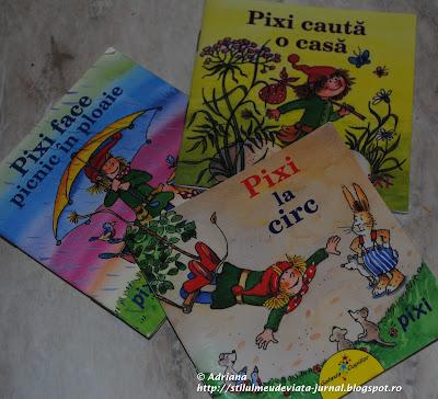 colectia de carti pentru copii: Pixi
