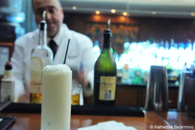 Ramos Gin Fizz at The Sazerac Bar Drinks to Try in New Orleans