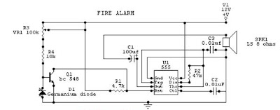 Fire    Alarm    Circuit       Diagram      Electronic    Circuits       Diagram