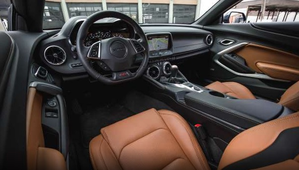2016 Chevrolet Camaro SS Coupe REVIEWS INTERIOR