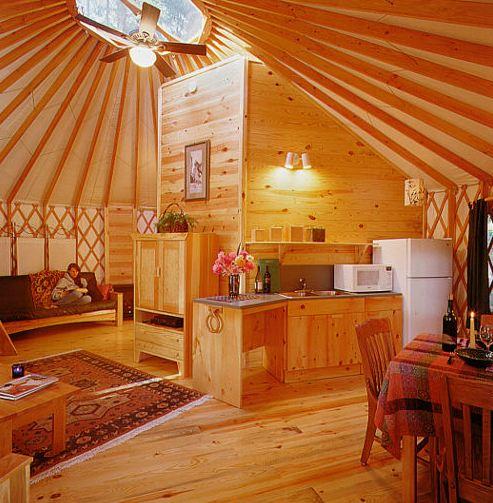 EcoFront: Alternative Housing: Yurts