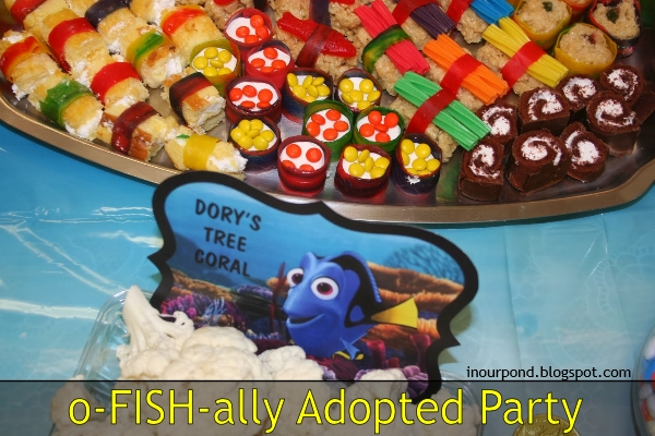 Finding Nemo Adoption Party Printables // In Our Pond // Finding Nemo // Finding Dory // Disney // Pixar // Tropical Fish // adoption // free printable // kids' party // foster-to-adopt