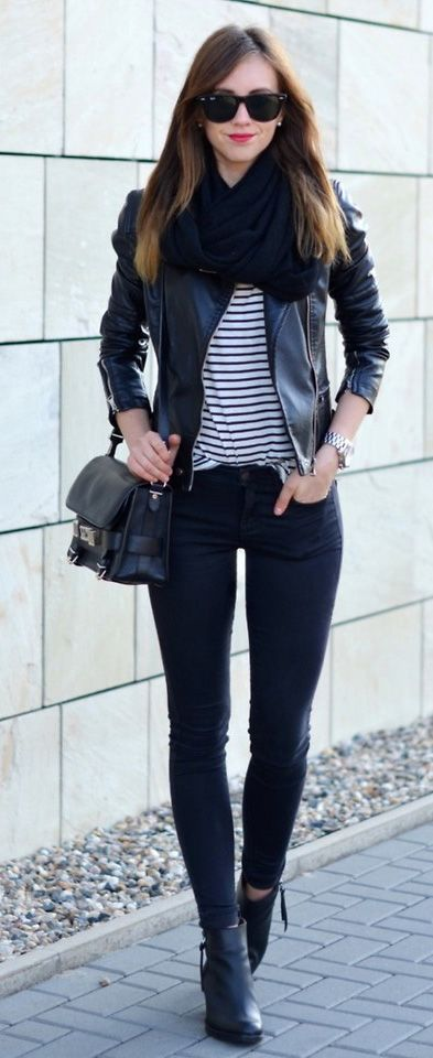 8 Most Stylish Black Leather Jackets 2017
