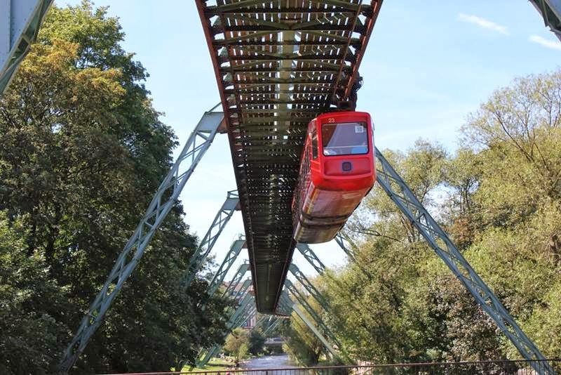 The Schwebebahn Wuppertal or Woopertall is the most important public transport system in Wuppertal